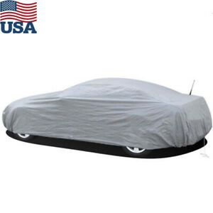 Peva S Full Car Cover Waterproof Rain Uv Sun Resistant Sedan Small Car Storage