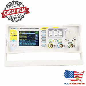 2 Channel Dds Arbitrary Waveform Signal Generator Pulse Frequency Meter 60 Mhz