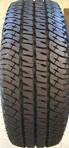 1 Used P275 65r18 114t Michelin Ltx At2 90 tread Remaining