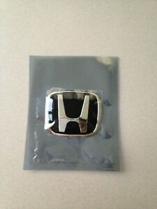 Accord Fit Civic Jdm Black Steering Wheel Type B Emblem Civic Si S2000 Accord