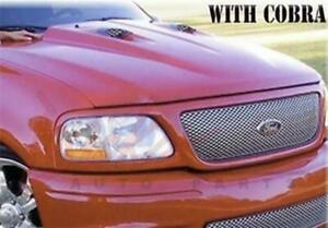 New 1997 2003 Ford F 150 Truck 2 Cowl Induction Hood Cobra Style