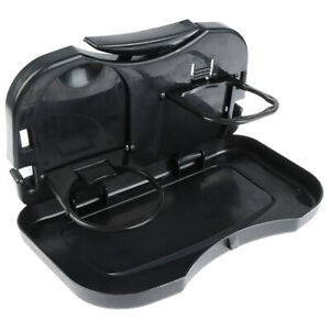 1pcs Folding Auto Car Back Seat Table Drink Food Cup Tray Rack Holder Stand De3r