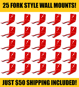 25 fork Style Wall Mount 10 Lb Size Fire Extinguisher amerex Bracket s New