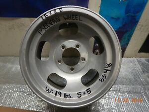 Vintage 15x8 1 2 Modern Slot Mag Wheel 5 On 5 Chevy Van truck Ford chevy Cars