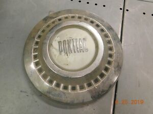 Vintage Single 55 57 Pontiac Dog Dish Hubcap Wheel Covers 56 Poverty Hub Cap Gm