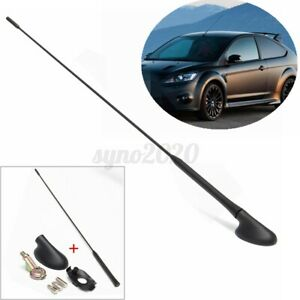 Roof Mount Radio Am fm Antenna Aerial Mast Base Kit For Ford Focus 2000 2007