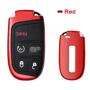 Car Accessories Electro optic Red Smart Key Holder Fit For Chrysler 200 300 300c