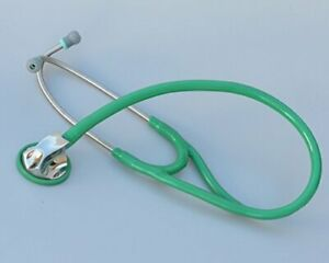 Single Head Cardiology Quality Stethoscope light Version By Kila Labs green