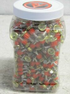 Lot Of 500 Ramset 1 In Red Head Step Shank Pin M100bb