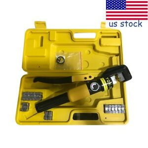 Hydraulic Wire Battery Cable Lug Terminal Crimper Crimping Tool Crimping joining