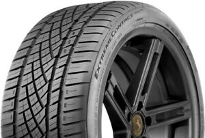 1 New 225 45zr17 W Continental Extremecontact Dws06 225 45 17 Tire