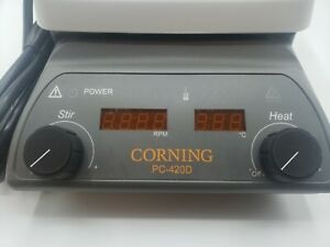 Corning Pc 420d Hot Plate Magnetic Stirrer 5 X 7 Please Read Details