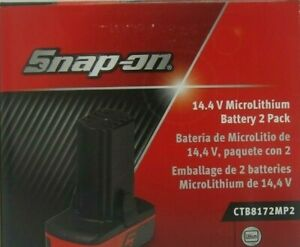 New Snap On 14 4 Volt Battery Ctb8172 2 Pack 2 0ah Free Shipping