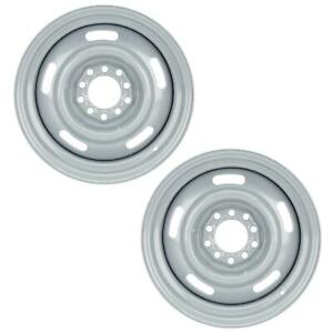 Gm Rally Dual Pattern Set 4 5 4 75 Silver 15x8