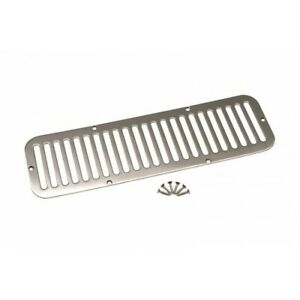 1 Quality Parts Stainless Hood Vent Jeep Cj5 1955 1977 30405 Kentrol K30405 cs