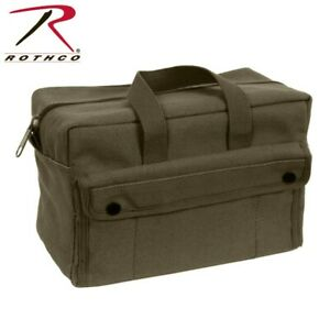 Rothco 9181 Olive Drab Military Heavy Weight Cotton Canvas Mechanics Tool Bag