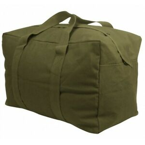 3123 Rothco Olive Drab Heavy Weight Canvas Parachute Cargo Bag 3123 od cs