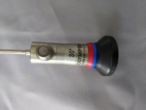 Olympus A4674a Hysteroscope 30 3mm Autoclave Red Blue Excellent Condition
