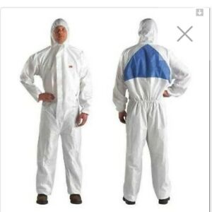 3m Protective Disposable Suit Gown Overall Coverall 4540 Large L New Bunny Ppe