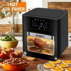 1700w 14qt Electric Air Fryer Oven Oil free Multi function Fry Machine Oven
