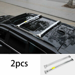 Fit For Jeep Grand Cherokee 2011 2019 2020 Silver Top Roof Cargo Rack Cross Bars