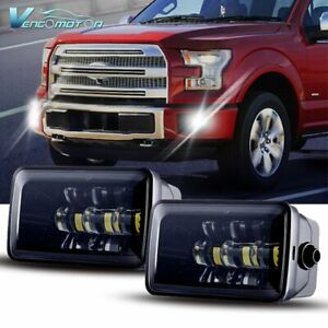 Pair 36w Led Fog Light Assembly Bumper Wihte Lamp Fit For Ford F150 2015 2018