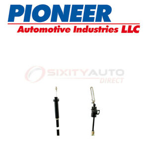 Pioneer Auto Transmission Detent Cable For 1981 1989 Chevrolet G20 4 3l 5 0l Qw