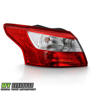 2012 2013 2014 Ford Focus 4 Door Sedan Tail Light Lamp Outer Lh Left Driver Side