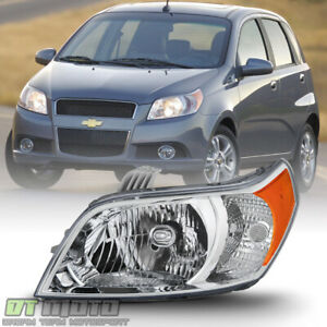 Left Driver Side 2009 2011 Chevy Aveo5 Hatchback Halogen Headlight Headlamp