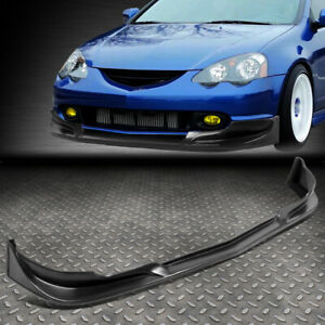 For 02 04 Acura Rsx C West Style Front Bumper Lip Splitter Chin Spoiler Body Kit