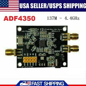 137m 4 4ghz Adf4350 Pll Rf Signal Source Frequency Synthesizer Development Board