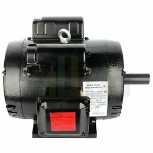Air Compressor Electric Motor 7 5 Hp 184t Frame 3450 Rpm Single Phase 60 Hz
