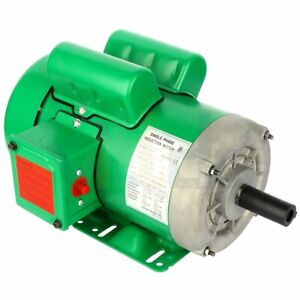 Air Compressor Electric Motor 2 Hp 1725 Rpm 145t Frame 1 Phase Tefc 115 230v