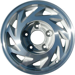 03147 Used 15x7 Alloy Wheel Rim As Cast And Machined