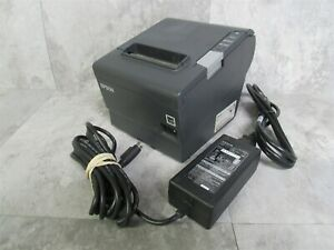 Epson Tm t88v M244a Pos Thermal Receipt Printer W Power Adapter