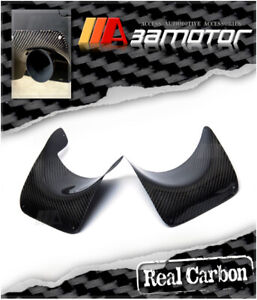 Carbon Fiber Rear Bumper Exhaust Heat Shield Fits Mitsubishi Evolution X Evo 10
