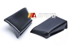 Carbon Fiber Rear Corner Extensions Fit For Mitsubishi Evolution X Evo 10 Bumper