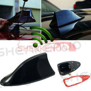 Roof Black Shark Fin Vortex Stereo Radio Aerial Signal Antenna Fm Am For Ford