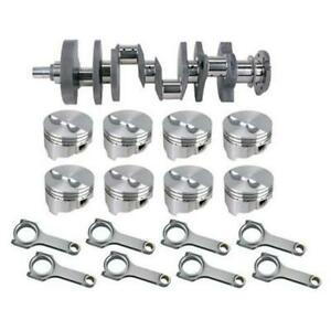 Forged S b Chevy Rotating Assembly 434 Dome 400 Mains 6 Rod 040