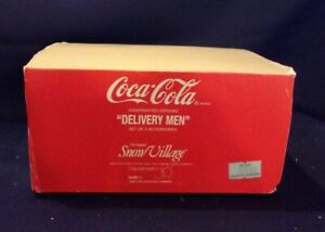 Dept 56 Snow Village Coca-Cola