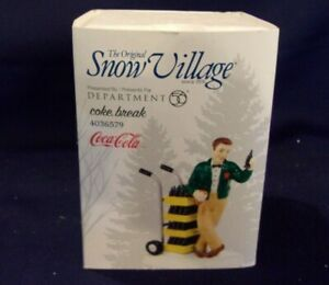 Dept. 56 Snow Village Coca Cola