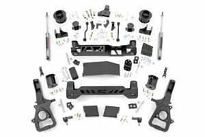 Rough Country 5 Lift Kit fits 19 20 Dodge Ram 1500 4wd Air Ride N3 Shocks