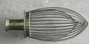 Commercial Mixer Wire Whisk Brass Base Used 13 5