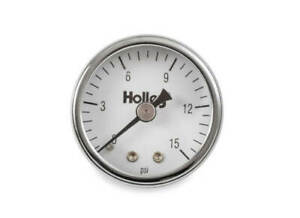 Holley 26 500 Mechanical Fuel Pressure Gauge 0 15 Psi