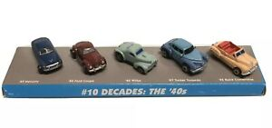Micro Machines 47 Tucker 40 Ford Coupe 49 Mercury 40 Willys 42 Buick Conv