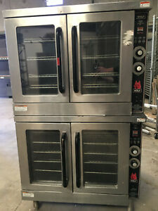Wolf Gas Convection Oven Model Commercial Double Deck Full Size