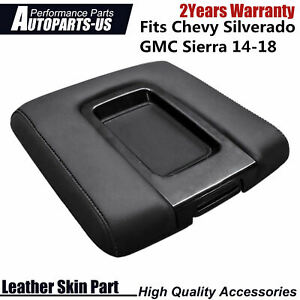 For Chevy Silverado Gmc Sierra 14 18 Console Lid Armrest Replacement Cover