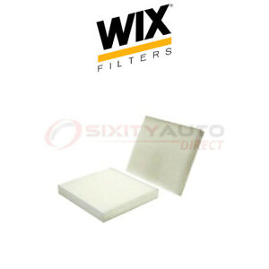Wix Cabin Air Filter For 2002 2006 Infiniti Q45 4 5l V8 Filtration System Fw