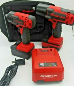 Monster Snap on Ct8850 18v 1 2 Ct8810 Impact Wrench W 2 18v Battery Charger