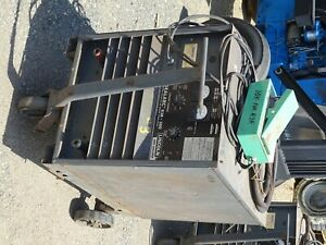 Lincoln Idealarc Arc Welder And Foot Pedal fc 4 R3r 300